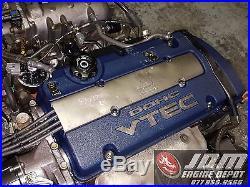 00 02 Honda Accord Sir 97 01 Prelude Base Model Vtec 2.3l Engine Jdm H23a