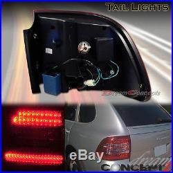 03-06 Porsche Cayenne Turbo S LED Tail lights L. E. D Super Bright All Models Red