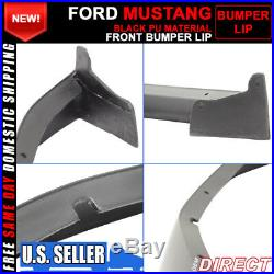 05-09 Ford Mustang Polyurethane Chin Spoiler Front Lip For V6 Pony Models