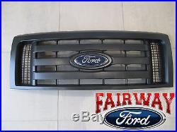 09 thru 14 F-150 OEM Genuine Ford Parts XL Model Black Grille Grill withEmblem NEW