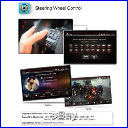 10.1 2 DIN Car GPS Navigation Stereo Radio Player Bluetooth Android DAB OBDII