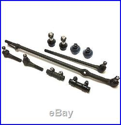 10 Pc Front Suspension Kit for Ford F-150 RWD Models Tie Rod Ends & Ball Joints