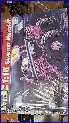 116 Scale Swamp Monster Muddin'/Monster Truck Vintage Revell Model Kit