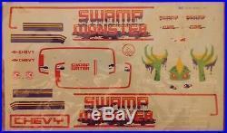 116 Swamp Monster Muddin'/Monster Truck Vintage Revell Model Kit