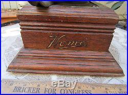 1901 Zon-O-Phone Home Model Disc Phonograph Parts/Restoration