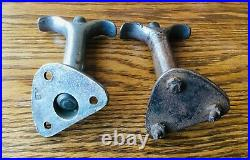 1920s 1930s HOOD LATCH HANDLES vtg antique early rare