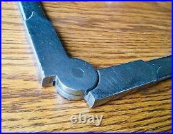 1920s 1930s TRUNK RACK HINGE vtg exterior bracket accessory