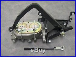 1928 to 1931 Model A Ford Frame Mount Pedal Assembly w Manual Master Cylinder