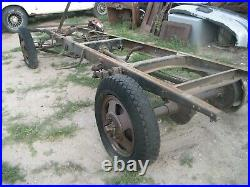 1929 Ford Model A Truck Frame And Chassis For Parts 1.5 Ton