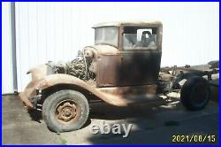 1930 1931 FORD MODEL A TRUCK PARTS, 4WD FRAME project parts rat rod