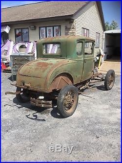 1930 Model A Coupe Rat Rod Patina Lots Of Parts Hot Rod