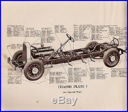 1930 Pierce-Arrow Parts Catalog Straight Eight Model A, B and C