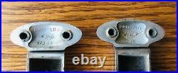 1936 Ford TRUNK HINGES vtg 1930s MODEL 68 convertible sedan 4 door deck lid