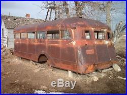 1936 GMC Hicks School Bus Body Vintage Truck Street Rat Rod 1932 1933 1934 1935