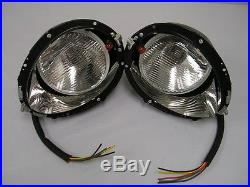 1937 1938 1939 Ford Headlights & Buckets with Turn Signal