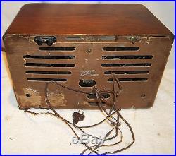 1941 Zenith 3 Band Shortwave Radio Model 7S529 Parts, Repair, Restore
