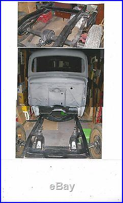 1945 Ford 1/2 Ton Pickup Rolling Chassis Original Parts Model 59 V8