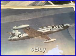 1948 Lockheed f94 A Model number 2 prototype Parts Aiplane Fighter Jet Fuselage