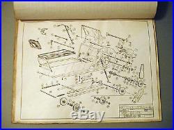 1963 Antique Arctic Cat Model 100 & Model 101 Parts And Instruction Manual