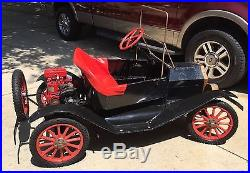 1969 Model T Replica Go Kart Clinton 3HP Engine Working Condition Original Parts
