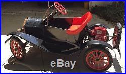 1969 Model T Replica Go Kart Clinton 3HP Engine Working Condition Original Parts