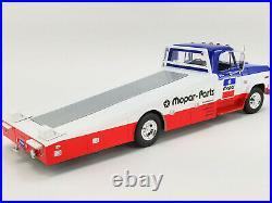 1970 Dodge D300 Ramp Truck Mopar Parts 1/18 Diecast Model By Acme A1801903