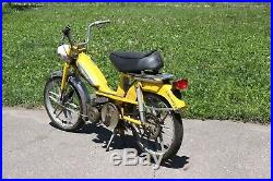 1976 MOTOBECANE Model 50 50cc moped with mag wheels for parts or restoration, Mich