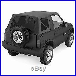 1988-1994 Suzuki Sidekick Geo Tracker Soft Top Black with Tinted Windows