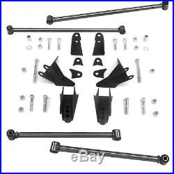 1999 Chevrolet S10 Heavy Duty Triangulated Rear Suspension Four 4 Link Kit v8