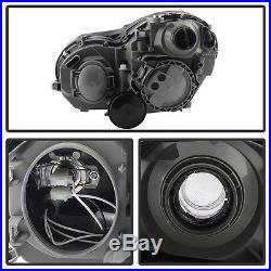 2001-2007 Mercedes C-Class W203 C240 C320 C32 Projector Headlights Halogen Model