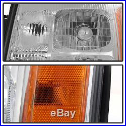 2003-2006 Cadillac Escalade Headlights Headlamps Replacement For 03-06 HID Model