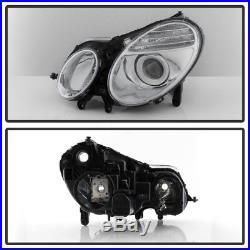 2003-2009 Mercedes Benz W211 E-Class Headlights Xenon HID Models Fit Only 03-09
