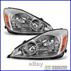 2004-2005 Toyota Sienna Headlights Headlamps Set Left+Right 04-05 Halogen Models