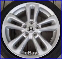 2006-2008 Honda Civic SI 17x7 5x115 OEM Wheels Will Fit Other Models 5x4.5