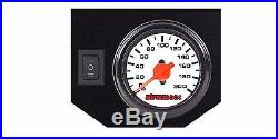 2007-17 Chevy 1500 Tow Assist Over Load Air Bag Suspension White Gauge Control