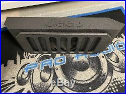 2007-19 Jeep Wrangler JK, JKU, or JL Model 12 Tailgate Box Sub Woofer Enclosure