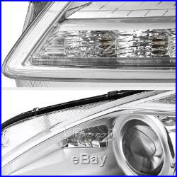 2007-2013 Benz W221 S550 S63 D1S Projector DRL Headlights Pair For Xenon Models