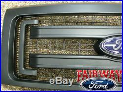2009 thru 2014 F-150 OEM Genuine Ford Parts Black XL Model Grille withEmblem