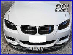 2011+ BMW E92 E93 AK Style Carbon Fiber Front Bumper Add On Lip M Sports 328i