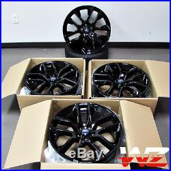 20 Ford Mustang Style Wheels Gloss Black Rims Fits 2005 & Up Mustang Models