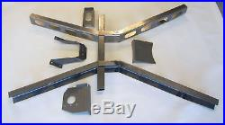 28 29 30 31 Ford Model A Frame, Super X Crossmember and Frame Boxing Plates