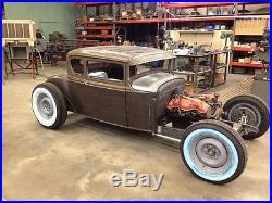 2-8 Model A & Model T Ford coupe, sedan, pickup, roadster hot rod frame