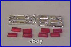 2 Emergency Lightbars ONLY Rescue Fire Ambulance Police 125 Model Parts Red