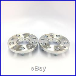 (2) HUBCENTRIC 5X100 TO 5X114.3 WHEEL SPACERS ADAPTERS 12X1.25 56.1mm CB 15MM