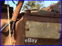(2) Model H Tractors antique parts