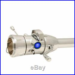 33 Blue Push Button Start Chrome Steering Column Automatic with Gear 427