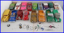 33 Model Cars Trucks Loose Built Junkyard parts Revell Mix 80's 90's