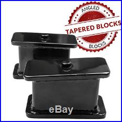 3 Front 3 Rear Lift Kit with Unloading Tool For 2001-2010 Chevy Silverado Models