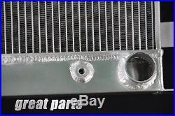 3 Row Aluminum Radiator 1930 1931 Ford Model A Chevy V8 Upgrade