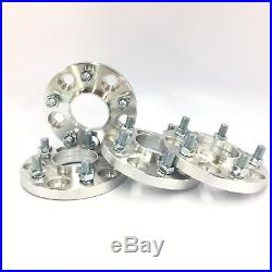 4pc HUBCENTRIC 5X100 TO 5X114.3 WHEEL SPACERS ADAPTERS 12X1.25 56.1mm CB 15MM